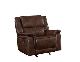 Primo Arlington Leather Reclining Chair in Brown A572