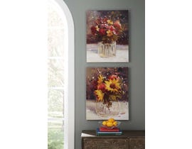 Signature Design by Ashley Rosalind Series Wall Art Set (2/CN) A8000033