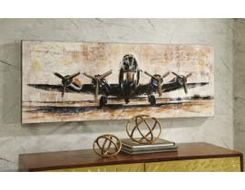 Signature Design by Ashley Kalene Series Airplane Design Wall Art A8000152