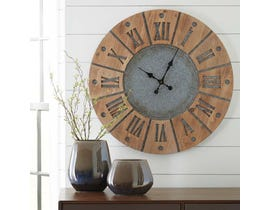 Signature Design by Ashley Payson Series Wall Clock A8010076