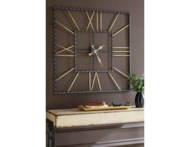 Signature Design by Ashley Thames Series Wall Clock A8010112