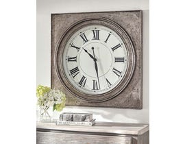 Signature Design by Ashley Pelham Series Wall Clock A8010132