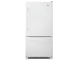 Amana 22 cu. ft. Bottom-Freezer Refrigerator with Large Capacity in White ABB2224BRW