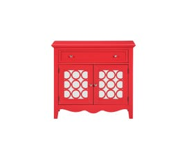 Avalon 1-Drawer Accent Chest in Chili Oil AC9572-CH14
