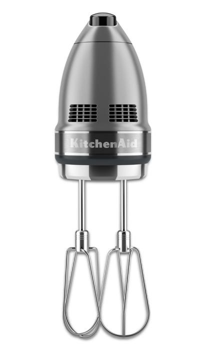 Kitchenaid 7 Speed Hand Mixer In Contour Silver Khm7210cu