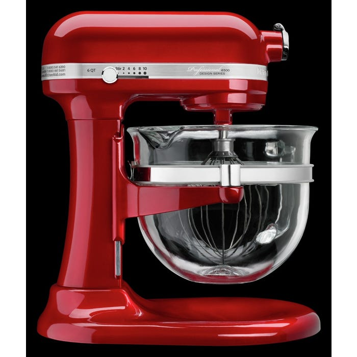 Astonishing Kitchenaid Professional 6500 Design Series Bowl Lift Stand Mixer In Candy Apple Red Ksm6521Xca Download Free Architecture Designs Remcamadebymaigaardcom