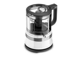 KitchenAid 3.5 Cup Mini Food Processor in White KFC3516WH