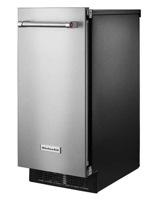 Kitchenaid 15 Inch Automatic Ice Maker In Printshield Finish Kuix535hps