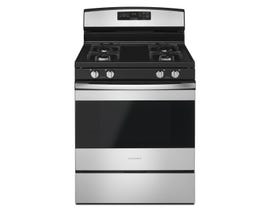 Amana 30 Inch 5 cu. ft. Gas Range Freestanding With Self-Clean in Stainless Steel AGR6603SFS