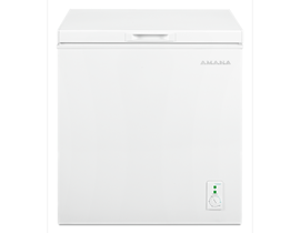 Amana 5.3 cu. ft. Compact Freezer with 2 Rollers in White AQC0501GRW
