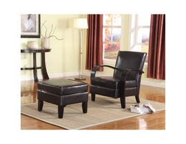 Brassex Verona Accent Chair Brown AT10-BR