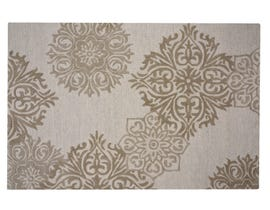 Primo Augusta 5' x 8' Area Rug in Ivory