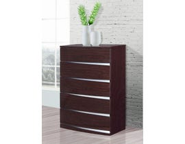 Global Furniture Aurora Chest Wenge Wood Veneer