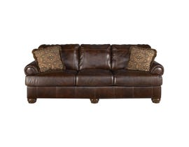 Signature Design by Ashley Axiom Sofa in walnut 4200038