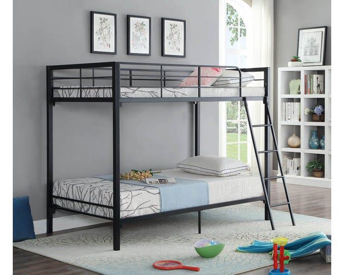 Bunk Bed International Furniture B 530 Black Lastman S Bad Boy
