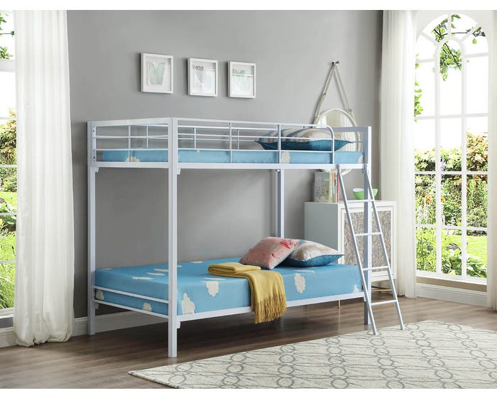 Bunk Bed International Furniture B 531 White Lastman S Bad Boy