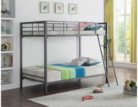 Twin Bunk Bed in Grey B-532