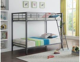 International furniture Twin Bunk Bed in Grey B-532
