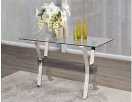 Brassex Ezra Sofa Table in Grey B-843