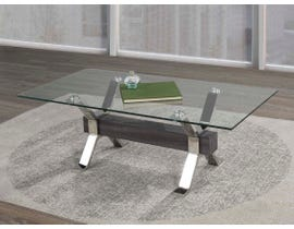 Brassex Ezra Series Coffee Table in Grey B-902