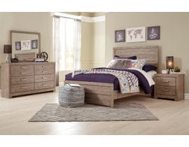 Signature Design by Ashley Culverbach Series Youth 6 Piece Full Bed Set in Grey Finish B070