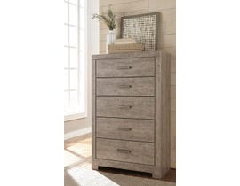 Signature Design by Ashley Culverbach Series Youth Five Drawer Chest in Grey Finish B070