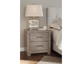 Signature Design by Ashley Culverbach Series Youth Two Drawer Nightstand in Grey Finish B070