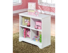 Signature Design by Ashley Lulu series youth white finish Loft Bin Storage B102