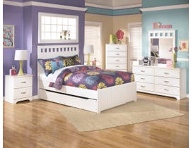 Signature Design by Ashley Lulu series youth white finish bedroom set  B102