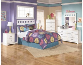 Signature Design by Ashley Lulu Full Bedroom Set in White B102