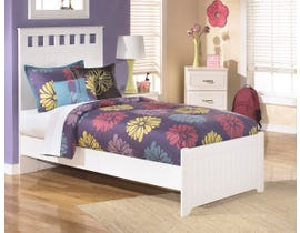 Signature Design by Ashley Bedroom Lulu 4-piece Twin size bed with a nightstand B102