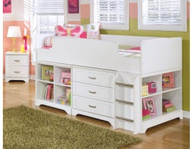 Signature Design by Ashley Bedroom Lulu 4-piece Twin Loft bed B102