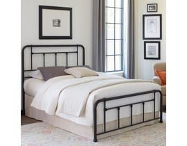 Sinca Baldwin Bed in Textured Black B1048
