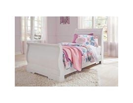 Signature Design by Ashley Twin Sleigh Bed in white B129B1