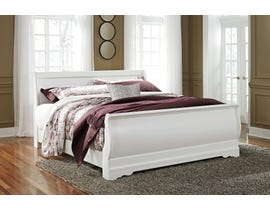 Signature Design by Ashley Anarasia Sleigh Bed in White B129