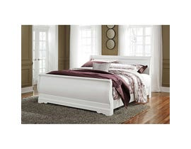 Signature Design by Ashley King Sleigh Bed in white B129B8