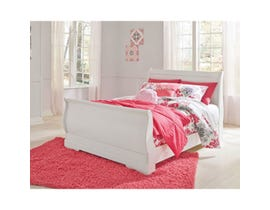 Signature Design by Ashley Full Sleigh Bed in white B129B2