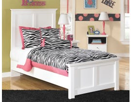 Signature Design by Ashley Twin Panel Bed in white B139B6