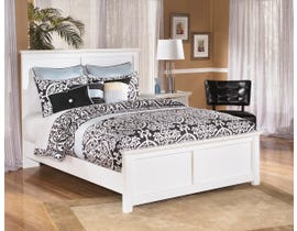 Signature Design by Ashley Queen Panel Bed in white B139B4