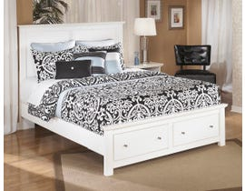 Signature Design by Ashley Queen Storage in white Bed B139B8