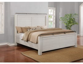 Avalon 3pc King Bed in White B00143