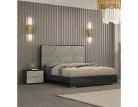K Elite Travis Series Bed in Grey Angley B157