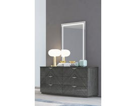 K Elite Stark Series Dresser in Grey Angley B162-DR