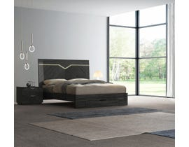 K Elite Stark Series Bed in Grey Angley B162
