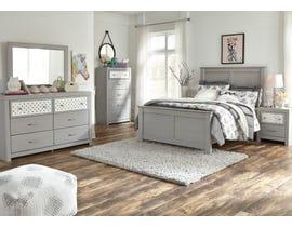 Signature Design by Ashley Arcella Panel Bedroom Set in Dove Grey B176