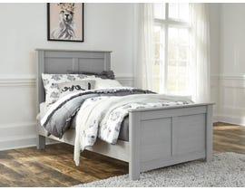 Signature Design by Ashley Arcella 3pc Panel Bed in Dove Grey B176