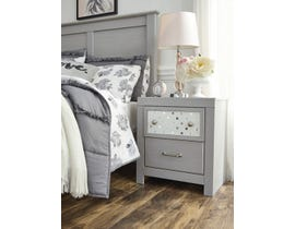 Signature Design by Ashley Arcella Nightstand in Dove Grey B176