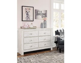 Signature Design by Ashley Paxberry Dresser in White B181