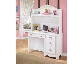 Signature Design by Ashley Desk and Hutch in White B188B1