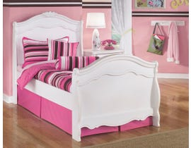 Signature Design by Ashley Twin Sleigh Bed in White B188B5